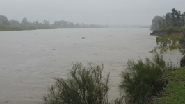 Kolan River Floods as Deluge Sweeps Across Bundaberg