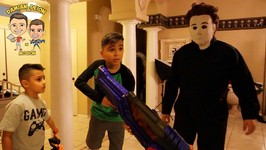 MICHAEL MYERS HOME INVADER MOVIE - HALLOWEEN - D and D SQUAD BATTLES