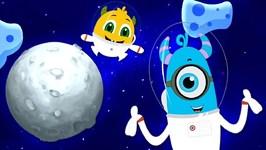 Does Anyone Live On The Moon - Momo Beats Cartoons - Nursery Rhymes & Kids Songs