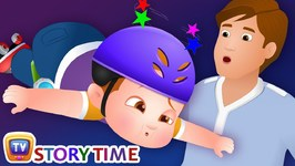ChaCha Never Gives Up - ChuChuTV Storytime Good Habits Bedtime Stories for Kids