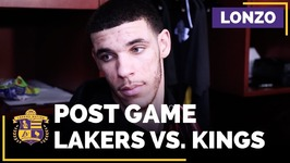 Lonzo Ball On Defense, Turnovers, Julius Randle In Starting Lineup