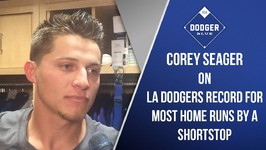 Corey Seager Breaks Dodgers Record For Most Home Runs By A Shortstop