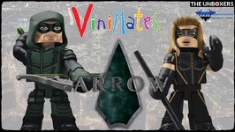 DCTV Arrow Vinimates Green Arrow & Black Canary by Diamond Select