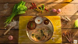 Palak Paneer Paratha - How To Make Stuffed Parathas - Tandoori Paratha - Veg Recipes