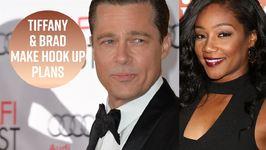 Brad Pitt & Tiffany Haddish Agree To Hook Up Next Year