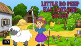 Little Bo Peep Has Lost Her Sheep - Baby Songs - Popular Rhymes