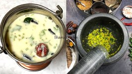 A Story Of My Gujarati Kadhi With Masala  - Spicy Yogurt Soup
