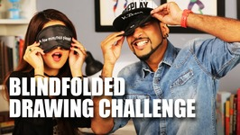 Mad Stuff With Rob - Blindfolded Drawing Challenge feat. Shalini  Knot Me Pretty