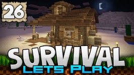 HEADING WEST, INTO THE WILD - Survival Let's Play Ep. 26 - Minecraft 1.2 - PE W10 XB1