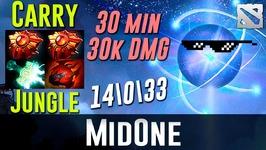 MidOne Io Carry - 30 min 30k DMG-  Dota 2