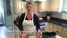 Meal Prep Tender Tuscan Chicken