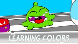 Learning Colors with Om Nom - Episode 2