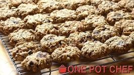 Classic Oat And Date Cookies