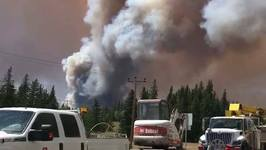 Fire Near Williams Lake Adds to 36,600 Displaced in BC