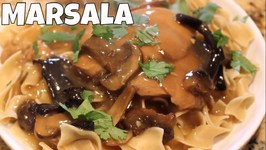 Chicken Marsala For Whip It Up Wednesday-Crock Pot Colab