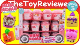 Num Noms Series 5 Full Case Box Mystery Packs Blind Bags Unboxing Toy Review