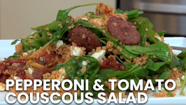 Pepperoni And Tomato Couscous Salad