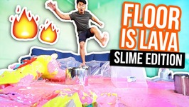 THE FLOOR IS LAVA SLIME - Slime Edition
