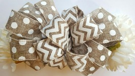 DIY DOLLAR TREE BOW TUTORIAL  CRAFT IDEAS