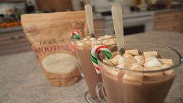 Holiday Tiger Nut Mocha Hot Chocolate