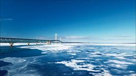 Drone Footage Shows Beauty of Straits of Mackinac