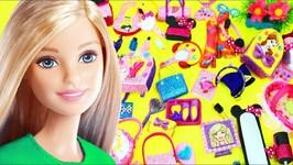 100 DIY Miniature Barbie Dollhouse Accessories  & Lifehacks 7  - simplekidscrafts