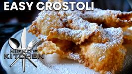 Easy Crostoli (3 Ingredients)