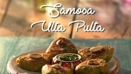 Samosa Ulta Pulta Chaat - How To Make Samosa Chaat - Quick And Easy Chaat Recipes