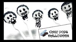 Cake Pops Halloween / Cake Pops De Oreo Faciles De Hacer