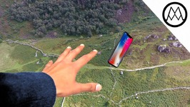 iPhone X Helicopter 1200ft Drop Test - Mous Case Review