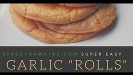 Zero Carb Garlic Rolls aka Paleo Bread