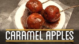 Caramel Apples - How To Make Everything- Thanksgiving Dinner