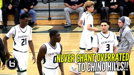 Chino Hills Turn Overrated Chants Into 34 Point Win In 1st Playoff Game Full Highlights