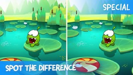 Spot the Difference Ep 42 - Om Nom Stories- Sandy Dam