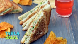 Cheese Vegetable Sandwich - Sandwich Recipe On A Tava