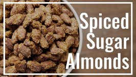 Spiced Sugar Almonds