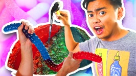 Do Not Boil A Giant Gummy Worm