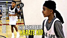 4ft 11 inch Hooper Goes At Everybody Omarion Casher Getting Buckets At Ballislife Jr Aa Camp