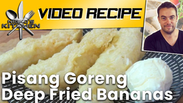 Pisang Goreng Deep Fried Bananas
