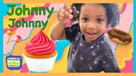 Kyraboo & Johnny Johnny Yes Papa  Children's Nursery Rhymes (skit)