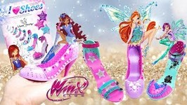 Winx Club DIY How to Design your own Shoe Custom Fashion Heel Kit