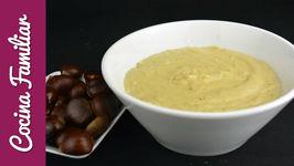 Como hacer pure de castañas - Recetas caseras fáciles