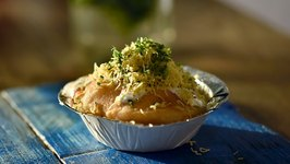 Kachori Chaat Recipe  How To Make Kachori Chaat