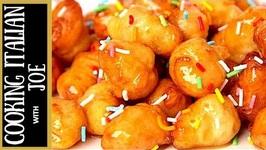 Delicious Italian Honey Balls Struffoli