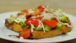 Italian Caprese Avocado Toast