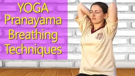 Yoga Pranayama Techniques for Beginners -Easy Breathing Exercise for WeightLoss -Sectional Breathing
