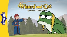 Wizard and Cat 2 - Tom's Gift - Fantasy - Animated Stories for Kids