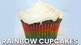 How to Make Rainbow Cupcakes (Gluten Free)