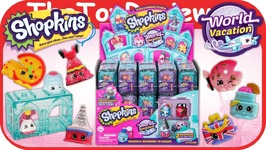 Shopkins Season 8 Full Case World Vacation Surprise Blind Bags Unboxing