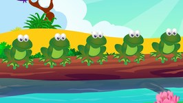 Five Little Speckled Frogs - 5 Little Speckled Frogs - Nursery Rhymes For Children